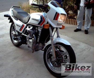 1983 Honda CX 500 E (reduced effect)