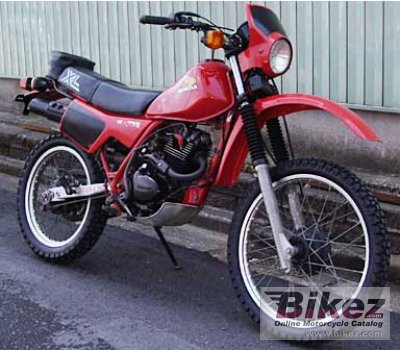 1983 honda xl 200 r specifications and pictures. Black Bedroom Furniture Sets. Home Design Ideas