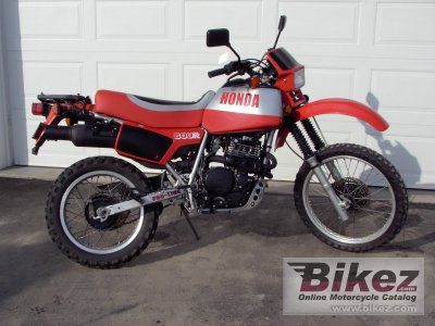 1983 honda xl 600 r specifications and pictures. Black Bedroom Furniture Sets. Home Design Ideas