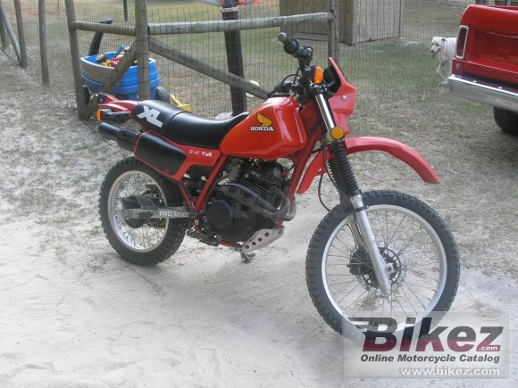 1984 Honda XL 350 R photo