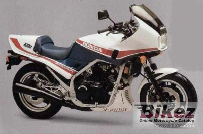 1984 Honda VF 1000 F photo