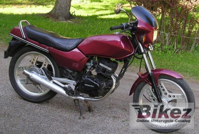 1984 honda cb 125 t 2 specifications and pictures. Black Bedroom Furniture Sets. Home Design Ideas
