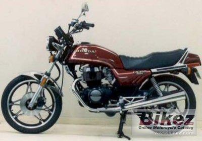 1984 Honda CB 450 N