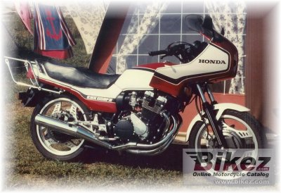 1984 Honda CBX 550 F 2 (reduced effect)