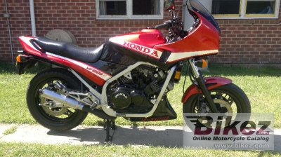 1984 Honda VF 1000 F (reduced effect)