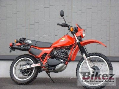 1984 honda xl 250 r specifications and pictures. Black Bedroom Furniture Sets. Home Design Ideas