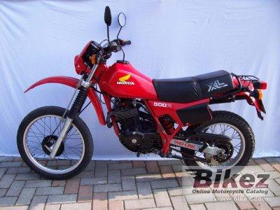 1984 Honda XL 500 R