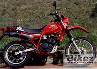 1984 honda xl 600 r specifications and pictures. Black Bedroom Furniture Sets. Home Design Ideas