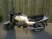 1985 Honda CB 450 N (reduced effect)