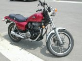 1985 Honda CB 450 SC photo