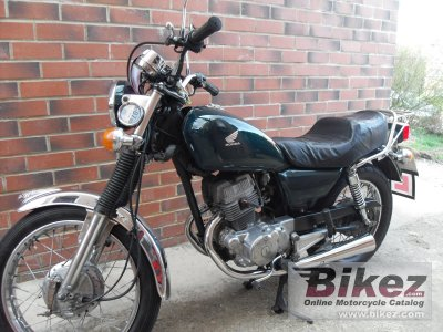 1985 honda cm 125 c specifications and pictures. Black Bedroom Furniture Sets. Home Design Ideas
