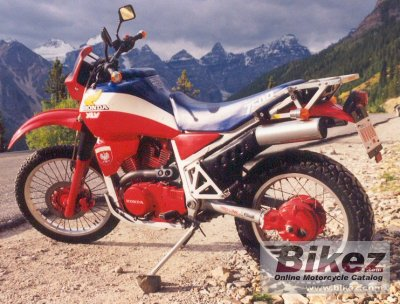 1985 honda xlv 750 r specifications and pictures. Black Bedroom Furniture Sets. Home Design Ideas