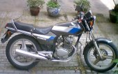 1986 Honda CB 125 T 2 photo