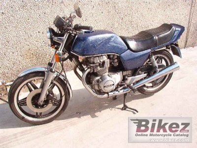 1986 Honda CB 250 N photo