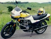 1986 Honda CB 450 N (reduced effect)