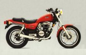 1986 Honda CB 450 N photo