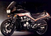 1986 Honda CBX 750 F photo