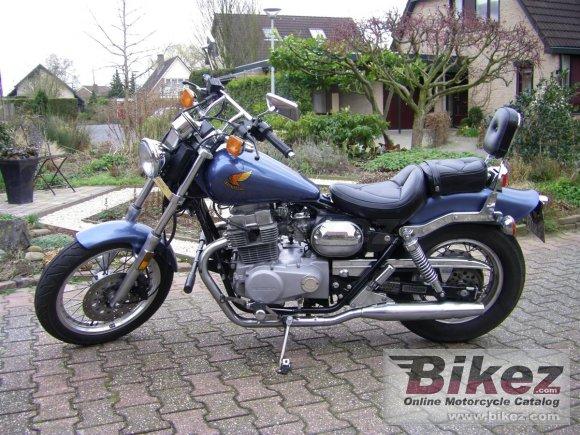 1986 Honda CMX 450 Rebel. Meneer Goos Nederland