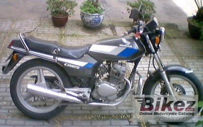 1986 honda cb 125 t 2 specifications and pictures. Black Bedroom Furniture Sets. Home Design Ideas