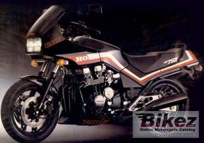 1986 Honda CBX 750 F