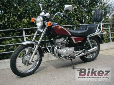 1986 honda cm 125 c specifications and pictures. Black Bedroom Furniture Sets. Home Design Ideas