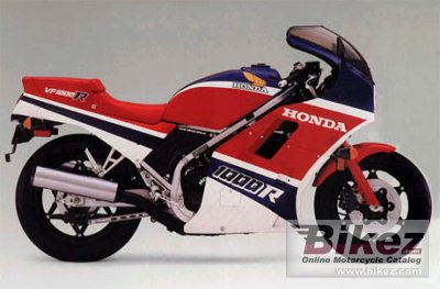 1986 Honda VF 1000 R