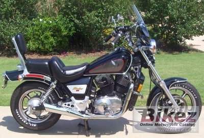 1986 honda vt 1100 c shaddow specifications and pictures