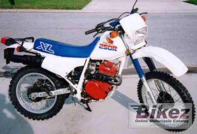 1986 honda xl 250 r specifications and pictures