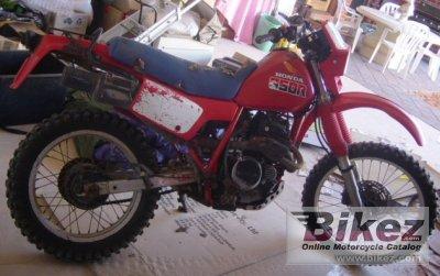 1986 Honda XL 350 R