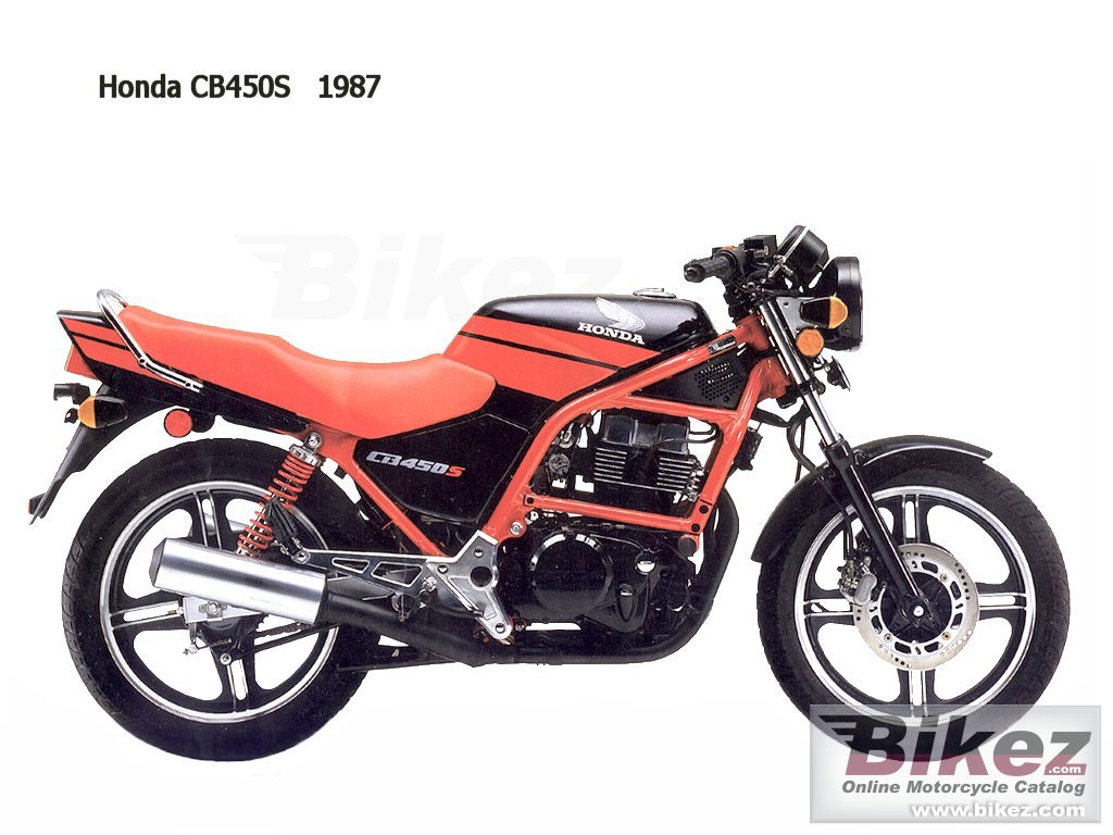 nymous user. cb 450 s