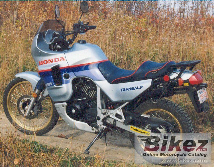 nymous user. xl 600 v transalp