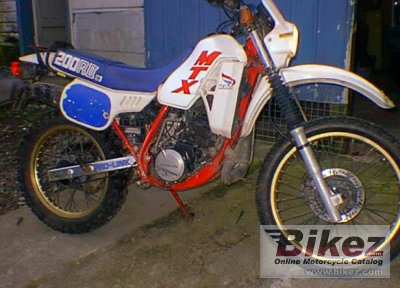 1987 Honda MTX 200 R photo