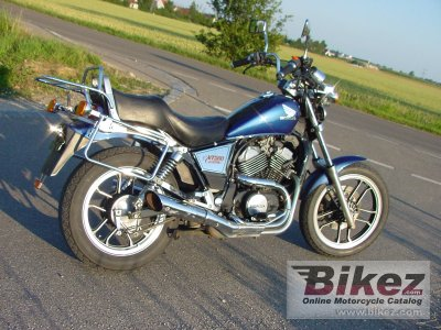 1987 honda vt 500 c specifications and pictures. Black Bedroom Furniture Sets. Home Design Ideas