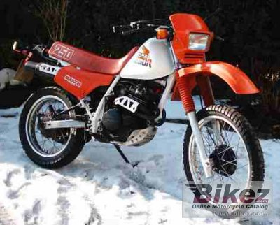 1987 Honda XL 250 R