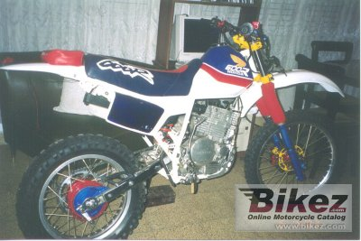 1987 honda xl 600 r specifications and pictures. Black Bedroom Furniture Sets. Home Design Ideas