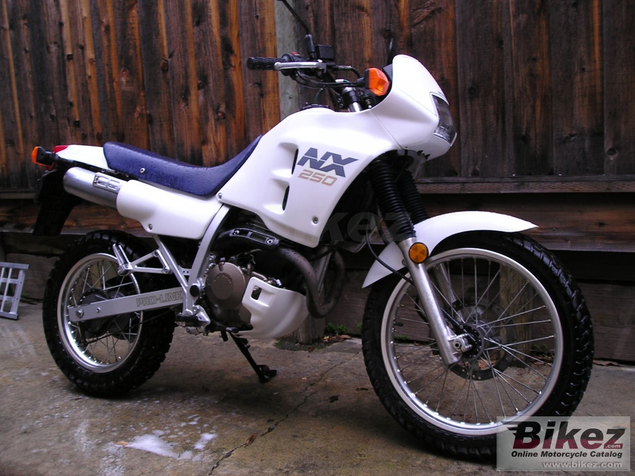 Big  nx 250 picture and wallpaper from Bikez.com