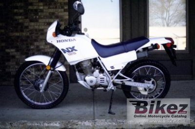 1988 honda nx 125 specifications and pictures. Black Bedroom Furniture Sets. Home Design Ideas