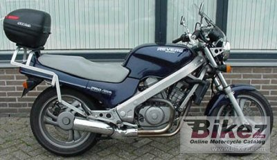 1988 Honda VFR 750 F (reduced effect)