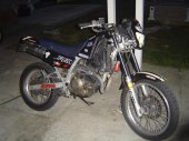 1989 Honda NX 250 photo