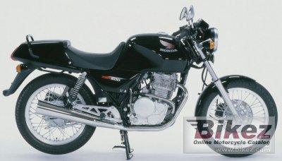 1989 Honda XBR 500