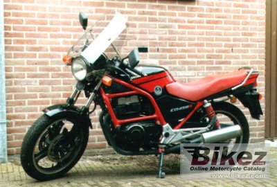 1990 Honda CB 450 S photo