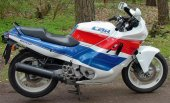 1990 Honda CBR 600 F (reduced effect)