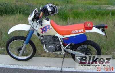 honda xr   specifications  pictures