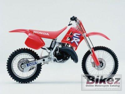 Honda Motocross Bikes 1992 Honda CR 125 spec...
