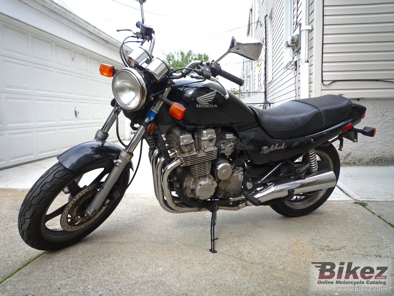 Honda CB 750 (reduced effect)