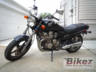 1992 Honda CB 750 (reduced effect)