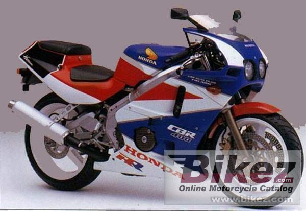 Big  cbr 450 sr picture and wallpaper from Bikez.com