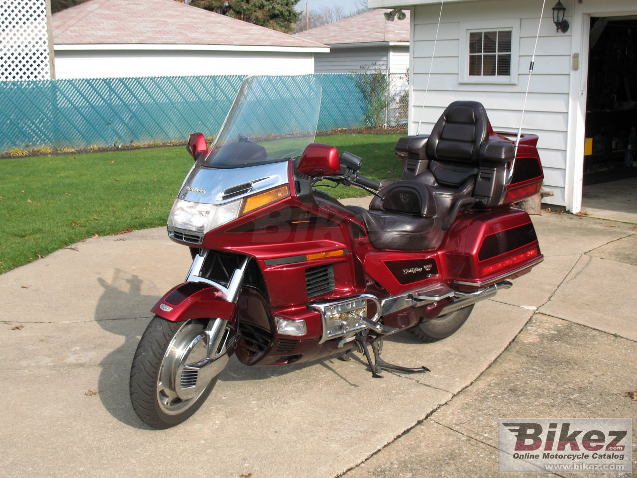 gl 1500 gold wing se