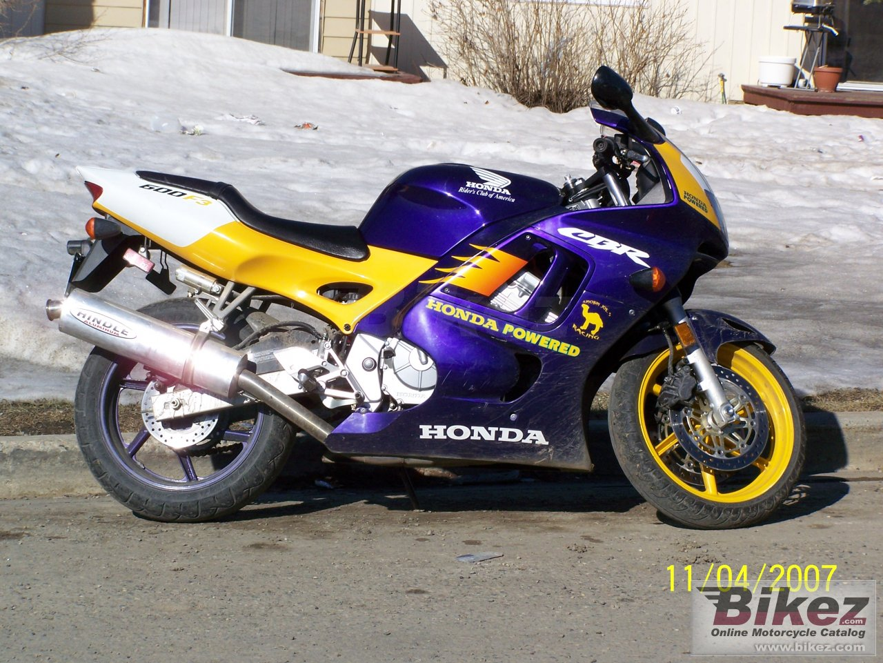 Honda F3 600 >> Honda CBR 600 F