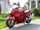 1998 Honda CBR 1100 XX Super Blackbird photo